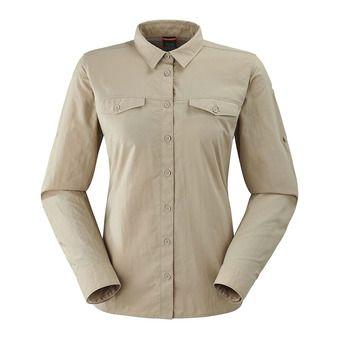 Lafuma SHIELD - Camisa mujer sand