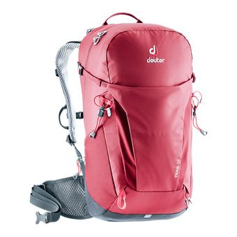 Deuter TRAIL 26L - Backpack - raspberry/graphite