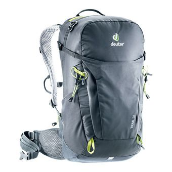 Deuter TRAIL 26L - Zaino nero/graphite