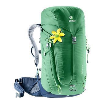 Deuter TRAIL 28L - Backpack - Women's - green/navy blue