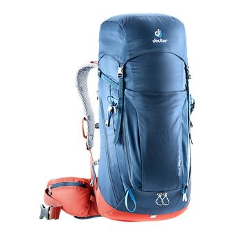 Deuter TRAIL PRO 36L - Backpack - night blue/lava