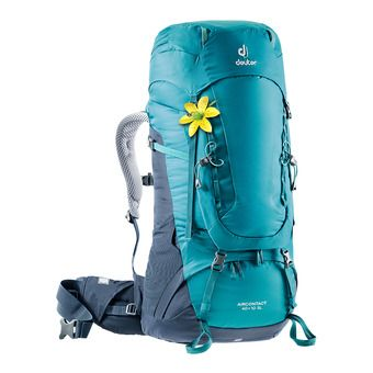 Deuter AIRCONTACT 40+10L - Backpack - Women's - petrol blue/navy blue