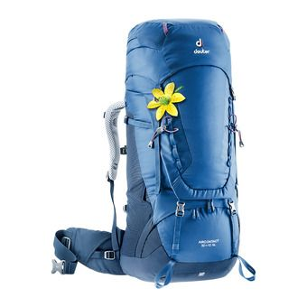 Deuter AIRCONTACT 50+10L - Backpack - Women's - steel/night blue
