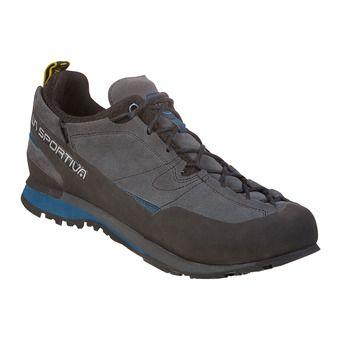 La Sportiva BOULDER X - Approach Shoes - Men's - carbon/opal