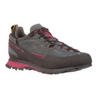 Zapatillas de aproximación mujer BOULDER X carbon/beet