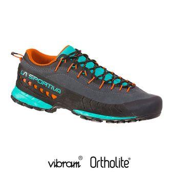 La Sportiva TX4 - Chaussures approche Femme carbon/aqua