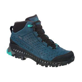 La Sportiva PYRAMID GTX - Chaussures randonnée Femme opal/aqua