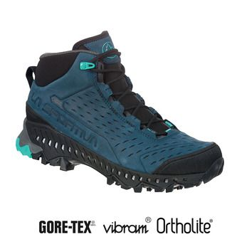 La Sportiva PYRAMID GTX - Zapatillas de senderismo mujer opal/aqua