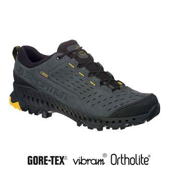 La Sportiva HYRAX GTX - Hiking Shoes - Men's - carbon/yellow