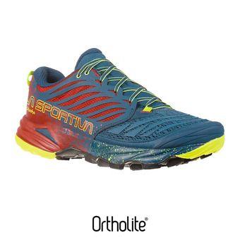 La Sportiva AKASHA - Chaussures trail Homme opal/chili