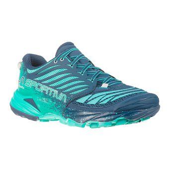 La Sportiva AKASHA - Chaussures trail Femme opal/aqua