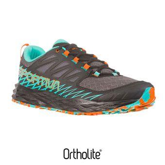 La Sportiva LYCAN - Chaussures trail Femme black/aqua