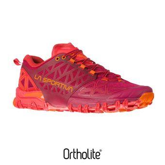 Zapatillas de trail mujer BUSHIDO II beet/garnet