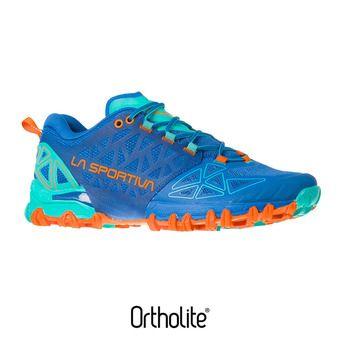 Zapatillas de trail mujer BUSHIDO II marine blue/aqua