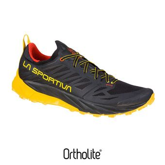 Chaussures de trail homme KAPTIVA black/yellow