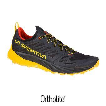 La Sportiva KAPTIVA - Scarpe da trail Uomo black/yellow
