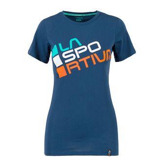 La Sportiva SQUARE - Camiseta mujer opal