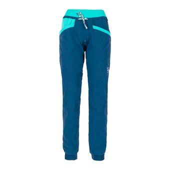 La Sportiva MANTRA - Pantalon Femme opal/aqua