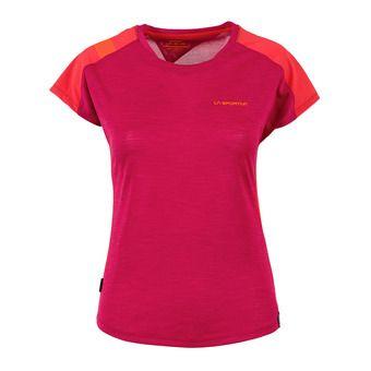 La Sportiva TX COMBO EVO - Jersey - Women's - beet/garnet
