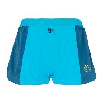 La Sportiva AUSTER - Short Homme tropic blue/opal
