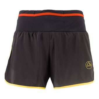 La Sportiva TEMPO - Short Homme black/yellow