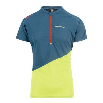 La Sportiva LIMITLESS - Maillot Homme opal/apple green