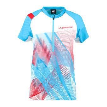 Veloce T-shirt W Malibu Blue/White Femme Malibu Blue/White