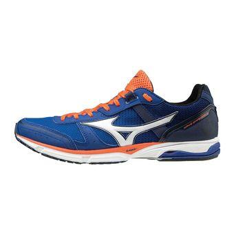 Chaussures de running homme WAVE EMPEROR 3 blue atoll/white/nasturtium