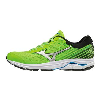 Mizuno WAVE RIDER 22 - Zapatillas de running hombre green gecko/silver/brilliant blue