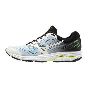 Mizuno WAVE RIDER 22 - Chaussures running Homme white/white/black