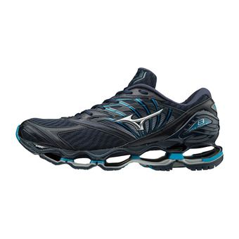 Mizuno WAVE PROPHECY 8 - Zapatillas de running hombre dress blue/silver/blue jewel