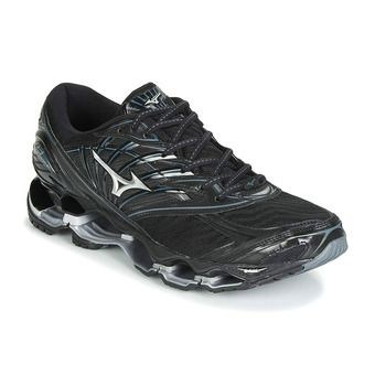 Mizuno WAVE PROPHECY 8 - Chaussures running Homme black/silver/stormy weather