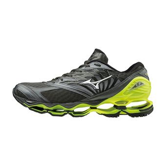 Chaussures de running homme WAVE PROPHECY 8 dark shadow/silver/safety yellow