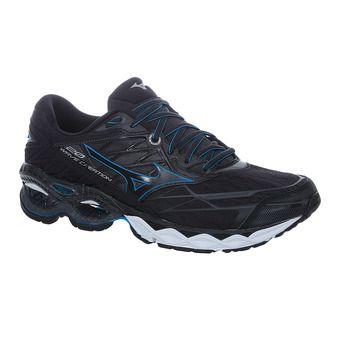 Mizuno WAVE CREATION 20 - Running Shoes - Men's - black/black/blue jewel