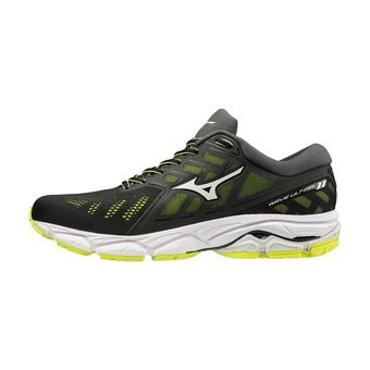 Mizuno WAVE ULTIMA 11 - Zapatillas de running hombre black/white/safety yellow