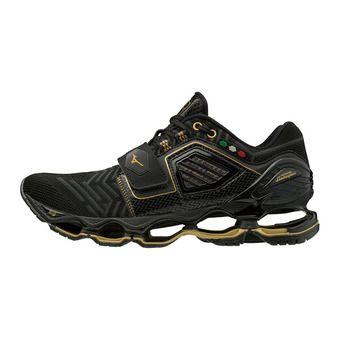 Zapatillas de running hombre WAVE TENJIN 4 black/dark shadow/gold
