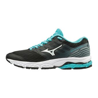 Mizuno WAVE PRODIGY 2 - Chaussures running Femme black/white/stormy weather