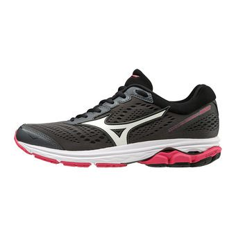 Mizuno WAVE RIDER 22 - Zapatillas de running mujer angel dark shadow/white/azalea
