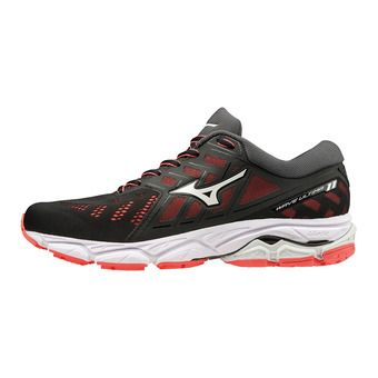 Mizuno WAVE ULTIMA 11 - Zapatillas de running mujer black/white/fiery coral