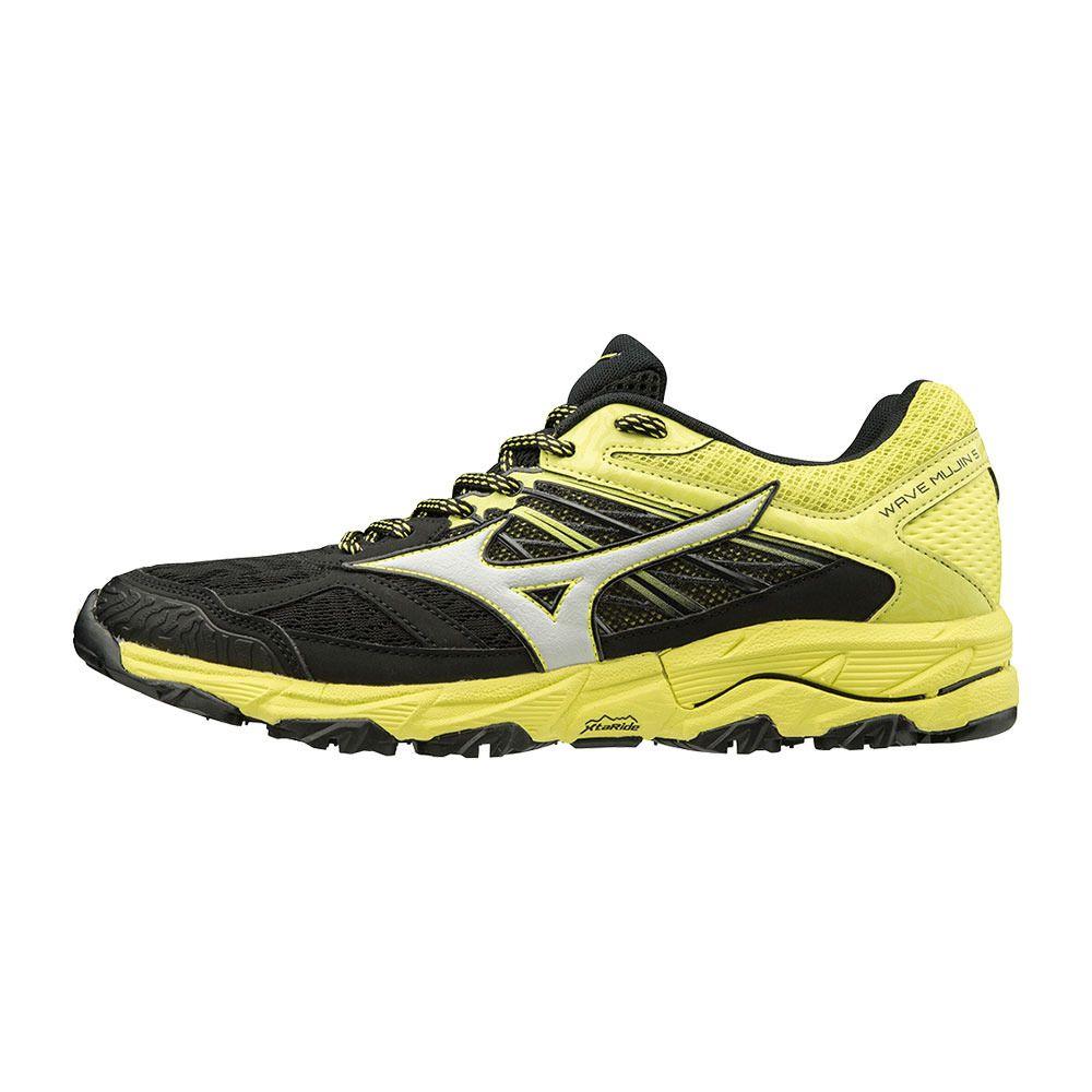 Mizuno Mujin 5 Wave Blackglacierbolt Trail Chaussures Homme tCxhQBsrod