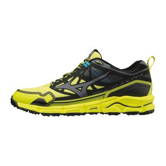 Mizuno WAVE DAICHI 4 - Chaussures trail Homme bolt/dark shadow/black