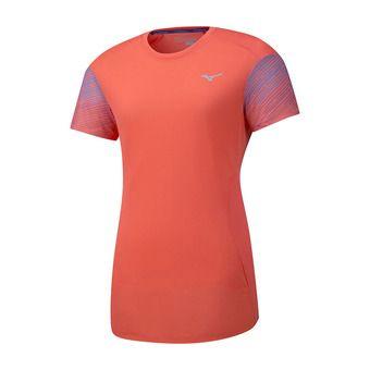 Camiseta mujer AERO hot coral