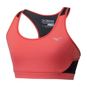 Mizuno ALPHA - Sports Bra - Women's - hot coral