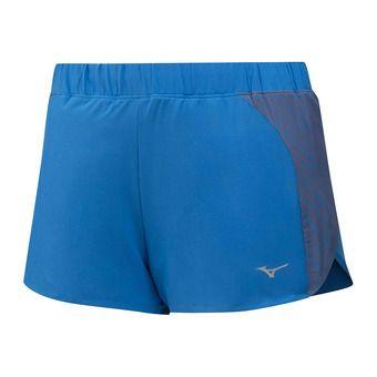 Mizuno AERO 2.5 - Short mujer brilliant blue