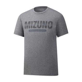 Mizuno HERITAGE - Camiseta hombre heather grey