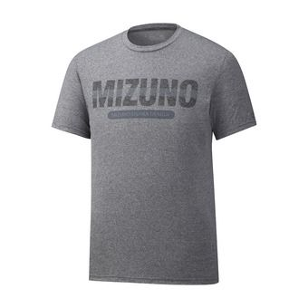 Mizuno HERITAGE - Maillot Homme grey melange
