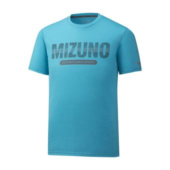 Mizuno HERITAGE - Camiseta hombre peacock