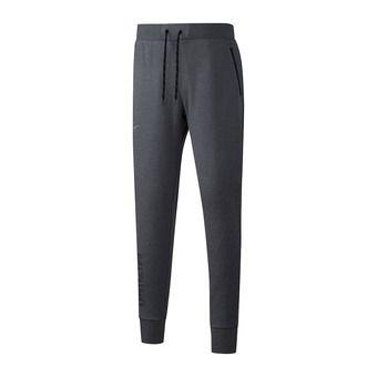 Mizuno HERITAGE RIB - Jogging Pants - Men's - grey marl