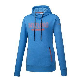 Sweat à capuche femme HERITAGE brilliant blue