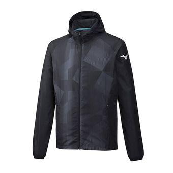 Printed Hoody Jacket Homme Black